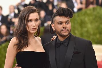 The Weeknd & Bella Hadid Enjoy NYFW Date As Their On-Again Relationship Continues