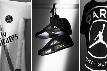 Jordan x Paris Saint-Germain Announce Official Partnership, Collection Details