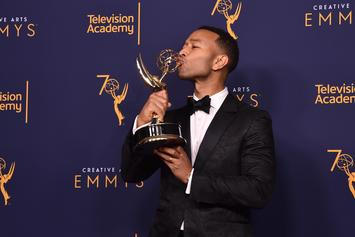 "John Legend Says He's Breathing ""Rarefied Air"" As An EGOT Winner"