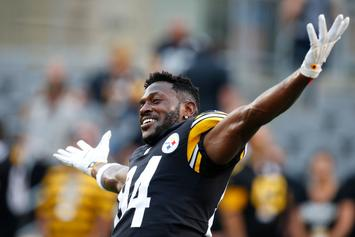"Steelers' Antonio Brown To Twitter Critic: ""Trade Me Let's Find Out"""