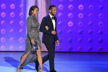 John Legend & Chrissy Teigen Shame A Reporter: Post-Emmy Awards Clap Back
