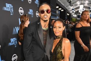 "August Alsina Pens Sweet Birthday Message To Jada Smith: ""You're Nothing Like The Rest"""