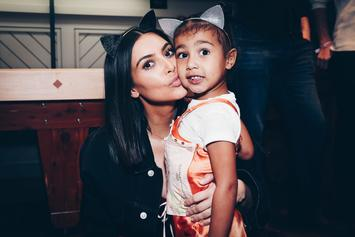Kanye West's Daughter North West Makes Runway Debut On Santa Monica Catwalk