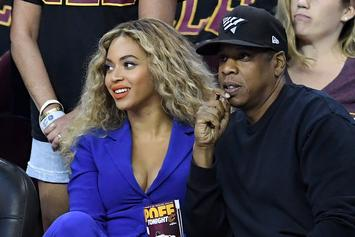 """Jay Z & Beyonce Show Love To A Breakdancer During """"On The Run 2"""" After Party"""