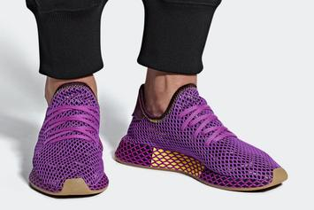 "Dragon Ball Z x Adidas Deerupt ""Son Gohan"" Official Images"