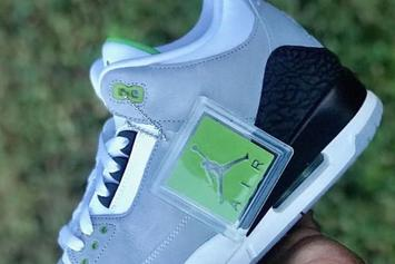 "Air Jordan 3 ""Chlorophyll"" Releasing For The First Time In October"