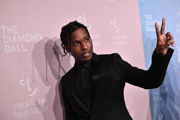 """A$AP Rocky & Skepta Use Live Band To Full Potential On """"Praise The Lord"""""""