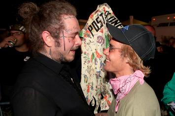 Post Malone Says His First Tattoo Was Inspired By Justin Bieber