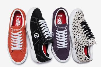 Supreme x Vans Sid Pro Collection Unveiled