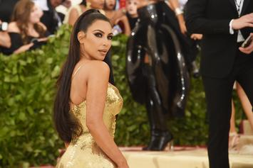 "Kim Kardashian Sets Thirst Trap In Tiny ""Vintage Chanel"" Bikini"