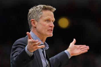 "Steve Kerr Ejected From Preseason Game: ""I Don't Want To Be Here Anyway"""