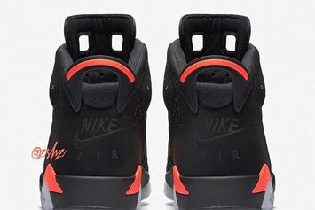 """Black Infrared"" Air Jordan 6 Releasing Again With ""Nike Air"" Branding"