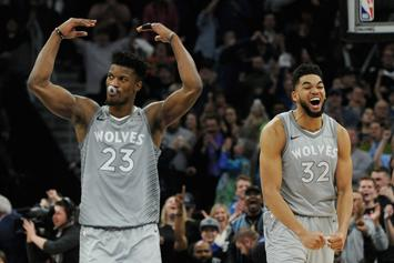"Jimmy Butler Holds ""Players-Only Meeting"" As Wolves Cancel Practice: Report"