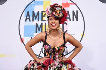 Cardi B's 26th Birthday Gift Came Through Drippin' In Gold & Platinum