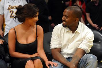 Kanye West & Kim Kardashian Meet With The President Of Uganda