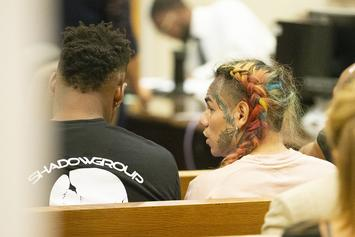 6ix9ine Makes Peace With Boy He Once Choked, Takes Picture With Him