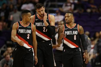 Damian Lillard, Maurice Harkless & More Trail Blazers Dress Up For Halloween