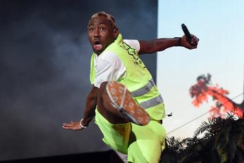 Tyler, The Creator Totals His Tesla After Scary-Looking Crash