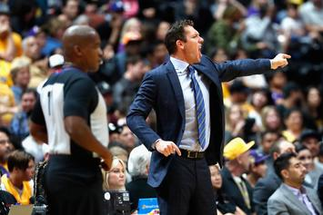 "Lakers' 1st Win Of The Season Inspired By Luke Walton's ""Closed Door Rage"""