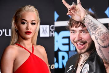 Rita Ora Transforms Into Post Malone For Halloween & Performs In Full Drag