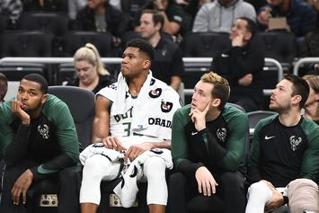 """Giannis Antetokounmpo """"Blacks Out"""" After Elbow To Head, Bucks Win Anyway"""
