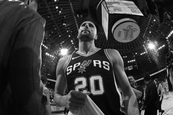 Spurs Announce Plans To Retire Manu Ginobili's No. 20