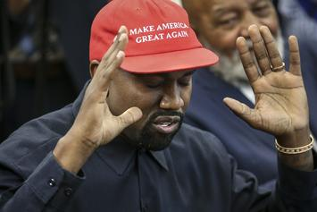 Kanye West Distances Himself From Politics & The Internet Thinks He Played Himself
