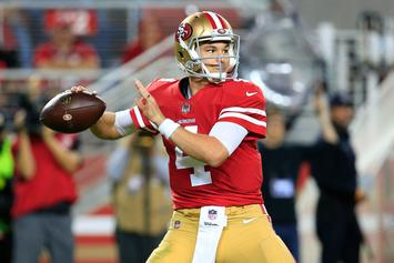 49ers Rookie Nick Mullens Receives Call From Brett Favre After Historic Debut