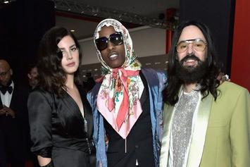 """A$AP Rocky Dressed Like Russian Granny For Gala """"To Show Off My Baboushka"""""""