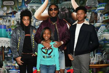 Future Attends Joie Chavis' Baby Shower With His Other Baby Mama Brittni Mealy