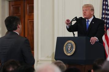 CNN Reporter Jim Acosta Berated By Donald Trump & Suspended From White House