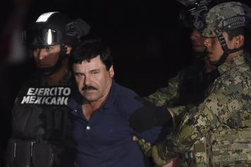 "A Heartbroken ""El Chapo"" Denied Request To Embrace His Wife During Trial"