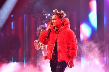 Lil Pump Documents Himself Evacuating Calabasas Home Due To Wildfire