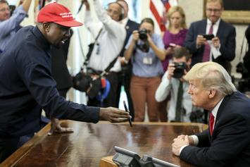 """Kanye West Only Supports Donald Trump When """"Album's Coming Out"""" Says Macy Gray"""