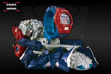 G-Shock x Transformers Optimus Prime Watch Unveiled
