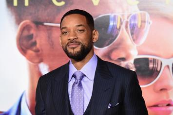 """Will Smith Explains Why He Was """"Terrified"""" To Play Genie In """"Aladdin"""""""