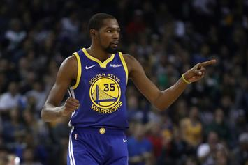 """Kevin Durant Scolds Court Side Fan: """"Watch The Game And Shut The F*ck Up"""""""