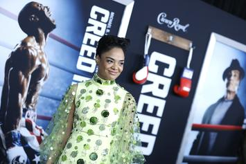 "Tessa Thompson's ""Creed II"" Character Drew Inspiration From Rihanna"