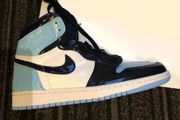 """Patent Leather """"UNC"""" Air Jordan 1 For All-Star Weekend: Detailed Look"""