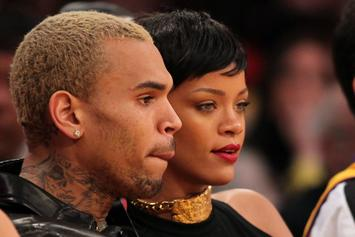Chris Brown & Meek Mill Lust Over Rihanna's Sultry Lingerie Photo