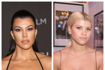 Kourtney Kardashian Has A Doppelganger: Her Ex-Boyfriend's New Girl Sofia Richie