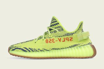 "Adidas Yeezy Boost 350 V2 ""Semi Frozen Yellow"" Restock Announced"