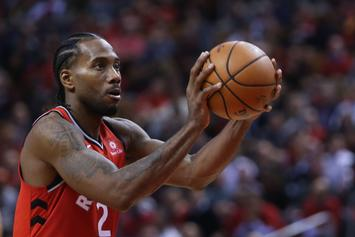 Kawhi Leonard Agrees To Multi-Year Sneaker Deal With New Balance