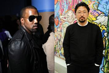 "Kanye West's ""Obnoxious"" Plane Lands In Japan For Takashi Murakami Meeting"