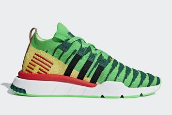 "Dragon Ball Z x Adidas EQT Support ""Shenron"" Official Images"