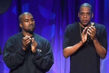 "Jay-Z Addresses Kanye West & His ""Red Hat"" On Meek Mill's ""Championships"""