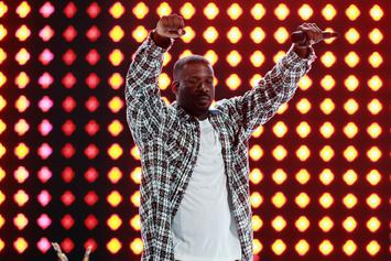 """Deontay Wilder Tries For The """"Win,"""" Walks To Ring With TDE's Jay Rock"""