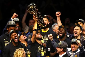 "Golden State Warriors Named Sports Illustrated's ""Sportsperson Of The Year"""