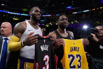 """LeBron James Clarifies """"Here Or The Garden"""" Comment"""