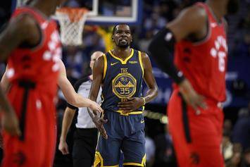 """Raptors Vs Warriors: KD Says Raps Aren't Up-And-Coming Team, """"They're Here"""""""